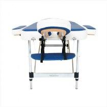 Складной массажный стол Holiday RelaxLine, синий/белый | Venko - Фото 27802