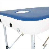 Складной массажный стол Holiday RelaxLine, синий/белый | Venko - Фото 27803