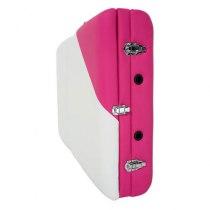 Складной массажный стол Colibri RelaxLine белый/розовый | Venko - Фото 27831
