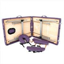 Складной массажный стол Florence RelaxLine фиолетовый | Venko - Фото 27846