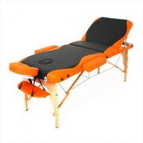 Массажный стол складной RelaxLine*Titan* (оранжевый/черный) | Venko - Фото 27888