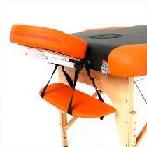 Массажный стол складной RelaxLine*Titan* (оранжевый/черный) | Venko - Фото 27889