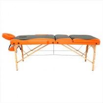 Массажный стол складной RelaxLine*Titan* (оранжевый/черный) | Venko - Фото 27891