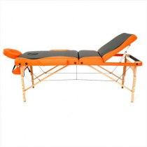 Массажный стол складной RelaxLine*Titan* (оранжевый/черный) | Venko - Фото 27892