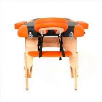 Массажный стол складной RelaxLine*Titan* (оранжевый/черный) | Venko - Фото 27893