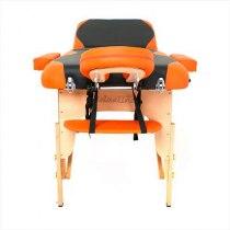 Массажный стол складной RelaxLine*Titan* (оранжевый/черный) | Venko - Фото 27894