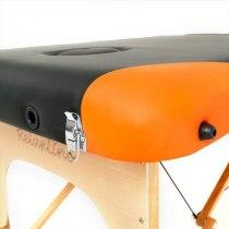 Массажный стол складной RelaxLine*Titan* (оранжевый/черный) | Venko - Фото 27895