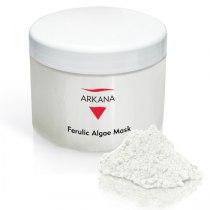 Гипоаллергенная омолаживающая осветляющая альгинатная маска с феруловой кислотой Arkana Ferulic Algae Mask 500мл | Venko