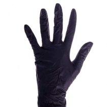 Перчатки нитриловые не опудренные черные S, 100 шт/уп imt | Venko - Фото 29968