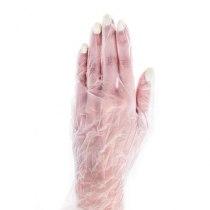 Перчатки виниловые опудренные S, 100 шт/уп(Medicom) | Venko - Фото 30018