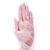 Перчатки виниловые без пудры L, 100 шт/уп imt | Venko - Фото 30025