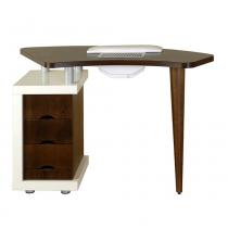 Стол для маникюра Ibis с деревянной столешницей Panda | Venko