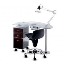 Стол для маникюрас вытяжкой 185 LX Panda | Venko
