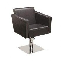Кресло парикмахерское Quadro на пневматике хром | Venko - Фото 32243