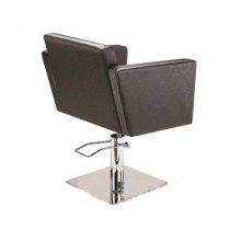 Кресло парикмахерское Quadro на пневматике хром | Venko - Фото 32244