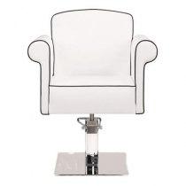 Крісло перукарське Art Deco на пневматиці хром | Venko - Фото 32275
