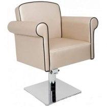 Крісло перукарське Art Deco на пневматиці хром | Venko - Фото 32276