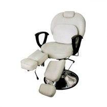 Педикюрное кресло на гидравлике S346 (красный) | Venko - Фото 32527