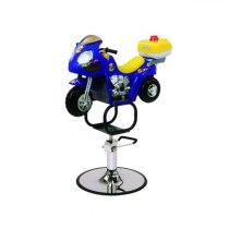 Парикмахерское кресло детское Мотоцикл - Фото 32551