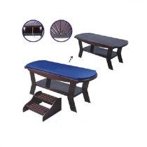 Массажный стол S 859 (темно-коричневый) | Venko - Фото 32552