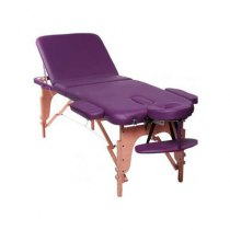 Массажный стол складной Eshetica New Tec (purple) | Venko