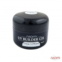 ГельNaomi UV Builder Gel Clear 1-Phase, 48гр | Venko