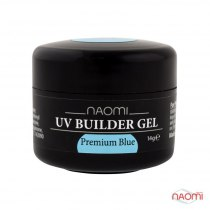 Камужфляжный гель UV Builder Gel Premium Blue,14 g | Venko