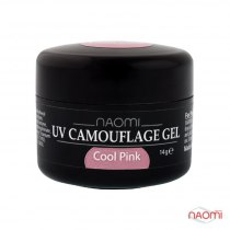 Камужфляжный гель UV Camouflage Gel Cool Pink, 14g | Venko