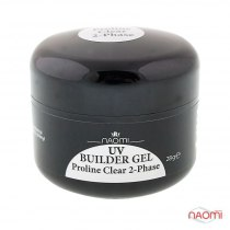 Гель Naomi UV Builder Gel Proline Clear 2-Phase, 28гр   | Venko - Фото 33734