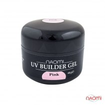 Гель Naomi UV Builder Gel Pink, 48гр | Venko - Фото 33752