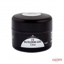 Гель Naomi IT Builder Gel Clear, 14гр | Venko - Фото 33755