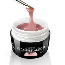 Розовый камуфляжный гель UV Camouflage Rose, 28 гр | Venko - Фото 33772