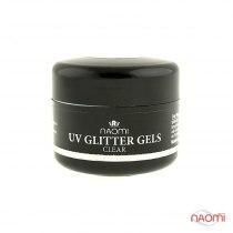 Гель Naomi UV Glitter Gel Cler, 14гр | Venko - Фото 33778
