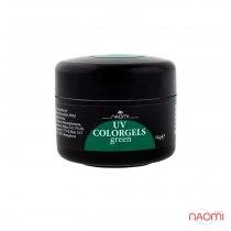 Камужфляжный гель UV Colorgels Green, 14 g | Venko - Фото 33786