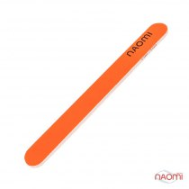 Пилка для ногтей оранжевая NAOMI, 180/180 CO865E | Venko
