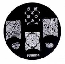 Диск для стемпинга PUEEN №20 | Venko