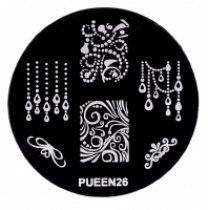 Диск для стемпинга PUEEN №26 | Venko