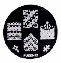 Диск для стемпинга PUEEN №32 | Venko