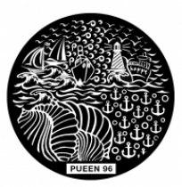 Диск для стемпинга PUEEN №96 | Venko
