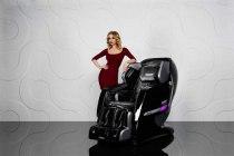 Массажное кресло YAMAGUCHI Axiom Black Edition   Venko - Фото 35739