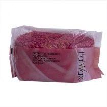 Гранулированный горячий воск Ital Wax Роза(винный) 1000г ДУБЛЬ | Venko - Фото 37563