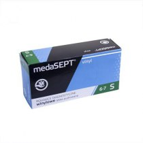 Виниловые перчатки опудренны Vinyl S medaSEPT, 100 шт | Venko - Фото 37594