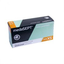 Латексные перчатки опудренные Latexpremium XS medaSEPT, 100 шт | Venko - Фото 37599