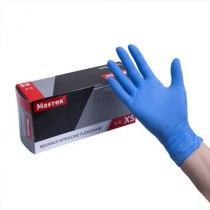 Нитриловые перчатки опудренные Nitrile Tech XS medaSEPT, 100 шт | Venko