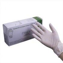 Перчатки латексные опудренные нестерильные,  разм М 50 пар (100 шт.) | Venko