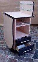 Складной маникюрный стол с выдвижной полочкой для УФ-лампы | Venko - Фото 38165
