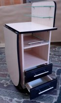 Складной маникюрный стол с выдвижной полочкой для УФ-лампы | Venko - Фото 38166