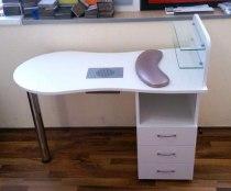 Складной маникюрный стол с вытяжкой Стандарт - Фото 38178