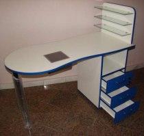 Складной маникюрный стол с вытяжкой Стандарт - Фото 38179