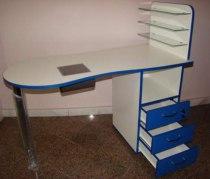 Складной маникюрный стол с вытяжкой Стандарт - Фото 38180